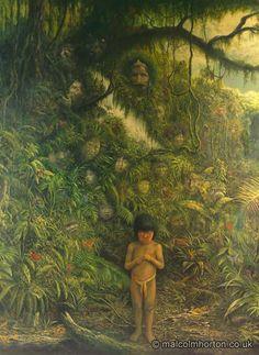 Spirit Of The Rainforest Poster::Environmental::Malcolm Horton Portfolio & Poster Print Store
