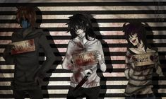 [OC| Creepypasta] Jeff, Jack and Nazir by KorikoMewGean on deviantART