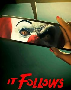IT FOLLOWS! Halloween Humor, Spooky Stories, Pennywise The Dancing Clown, Old Letters, Best Horrors, Scary Stuff, Movie Poster Art, Dark Fantasy Art, Horror Films