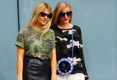 CAMO SISTERS | Street Peeper | Global Street Fashion and Street Style