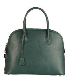Loving this Ottanio Siena Leather Satchel on #zulily! #zulilyfinds