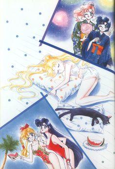 美少女戦士セーラームーン原画集 Bishoujo Senshi Sailor Moon Original Picture Collection Vol.1 - Drawn for the 1993 calendar by Naoko Takeuchi
