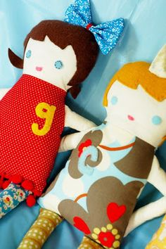 Little Green Notebook: Easy and Cute Doll Pattern