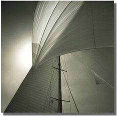 Michael Kahn is a sailing and seascape photographer using traditional black and white film. View his amazing sailboat photography here in portfolio format. Sailing Pictures, Yacht Builders, Sunny Beach, Sail Away, City Landscape, Tall Ships, Fine Art Photography, Photography Ideas, Black And White Photography