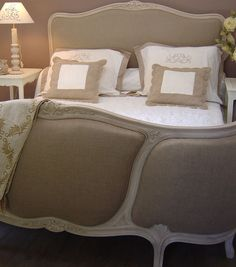 t te de lit en bois massif et coton l 140 cm t tes de lit en bois lit en bois et bois massif. Black Bedroom Furniture Sets. Home Design Ideas