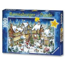 #Ravensburger The #Christmas Village 1000pc #JigsawPuzzle  http://jigsawpuzzlesforadults.com/ravensburger-christmas-jigsaw-puzzles/