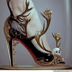 Halloween-The evil witch has to have great shoes as well!