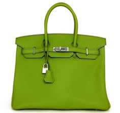 159d8c2127f6 HERMES Vert Anis Green 35cm Togo Leather Birkin Bag NEW.  asecondchanceresale.com Hermes Purse