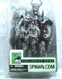 SDCC Todd McFarlane Signed Spawn Club Comic Con EX Bloodaxe R3 Dark Ages Medieval Pewter Figure ||  In stock @DCCollectibles (click image to buy it now). Order totals of $69 or higher (2 or more listings), ship for FREE. Continental USA only.