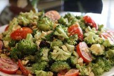 Мой любимый салат из брокколи