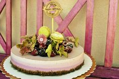 Forrest fruit vegan cake Vegan Cake, Birthday Cake, Fruit, Desserts, Food, Tailgate Desserts, Deserts, Birthday Cakes, Essen