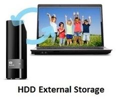 Compare HDD  External Storage Devices:  Western Digital  vs. Seagate