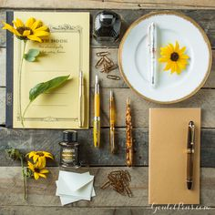 Goulet Pens Blog: Thursday Things: Sunflower Fields