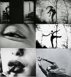 "Maya Deren – Film Theoretician/Maker of the Week In her essay, ""Cinematography: The Creative Use of Reality,"" Maya Deren, an anti-realist, understood that the authority of reality is available even to. Narrative Photography, Art Photography, Hans Richter, Research Poster, Francesca Woodman, Looks Halloween, Film Stills, Writing Services, Dark Art"