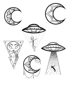 hippie tattoo 788411478504019632 - Iz Diy Tattoo Images diy tat Source by Mrudiytattooimages Alien Tattoo, Kritzelei Tattoo, Smal Tattoo, Doodle Tattoo, Doodle Art, Tattoo Small, Alien Drawings, Space Drawings, Pencil Art Drawings