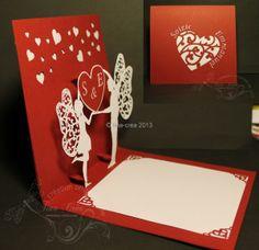 * faire-part mariage pop-up