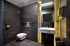 nowoczesna łazienka czarna - Szukaj w Google