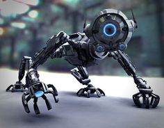 Robot Picture  (3d, sci-fi, robot)
