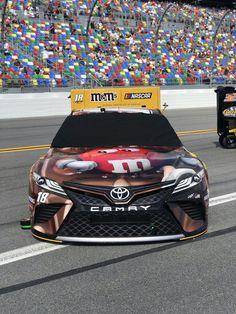 2019 Daytona 500 M&m Nascar, Nascar Diecast, Nascar Sprint Cup, Nascar Racing, Kyle Busch Car, Kyle Bush, Kyle Busch Motorsports, Monster Energy Nascar, American Auto