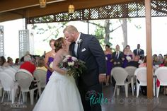 Outdoor wedding at Seven Seas in Delafield