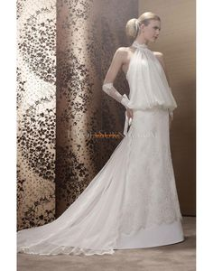 A-line Chapel Train Natural Wedding Dresses 2014 Inexpensive Bridesmaid Dresses, Wholesale Wedding Dresses, Elegant Wedding Gowns, Wedding Dresses 2014, Prom Dresses, Wedding Dress Organza, Bridal Gowns, One Shoulder Bridesmaid Dresses, Marie