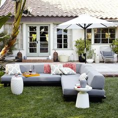 Tillary® Outdoor Modular Seating #westelm