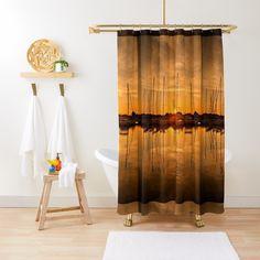'Sunset at the marina of Lefkada' Shower Curtain by Hercules Milas Hercules, Tub, Curtains, Popular, Shower, Sunset, Rain Shower Heads, Sunsets, Bath Tub