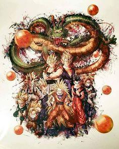 Amazing art of the Dragon ball z saga Manga Dragon, Goku Manga, Dragon Ball Gt, Fan Art, Samurai, Drawings, Artwork, Instagram, Goku Super