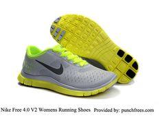 0514cb7b241 Nike Free 4.0 V2 Womens Pure Platinum Reflective Silver Violet  69.53