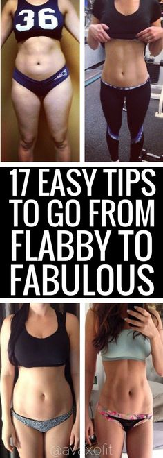 17 best ideas to get rid of your flabby belly quickly.