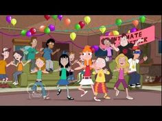 Phineas and Ferb - Intimate Get Together (Candace Party) Lyrics + HD - YouTube
