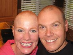 """Apparently Scott was serious when he had pledged to be with me through sickness and health! My cancer reminded us of those vows in a powerful way."" - Bethany Palmer breast cancer survivor. http://sgk.mn/2xFxA49"