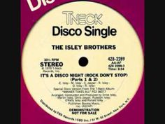 ▶ Isley Brothers - It's a Disco Night - YouTube