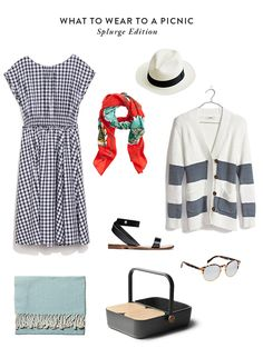 What to wear to a picnic: Splurge and Save