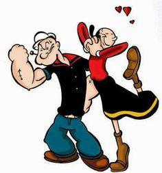 Popeye and olive oyl- Bing Images Classic Cartoon Characters, Classic Cartoons, Disney Characters, Betty Boop, Popeye Olive Oyl, Popeye Cartoon, Popeye The Sailor Man, Morning Cartoon, Cartoon Photo