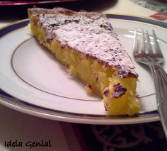 Cobbler, Portuguese, Donuts, Cake Recipes, French Toast, Recipies, Cheesecake, Food And Drink, Sweets