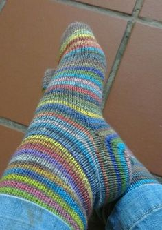 Nurturing Fibres Toe-Up Socks Free Pattern