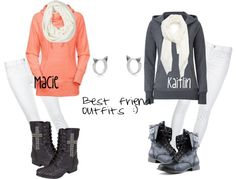 """""""Awww yis bff outfits"""" by macie-rhodes ❤ liked on Polyvore"""