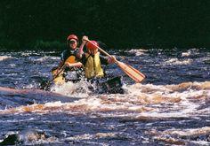 White Water Canoe - Flambeau River, WI