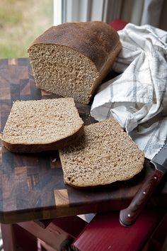 Whole Wheat Bread (Bread Machine) - Bread maker recipes - Bread Oster Bread Machine Recipe, Whole Wheat Bread Machine Recipe, 100 Whole Wheat Bread, Wheat Bread Recipe, Bread Maker Recipes, Yeast Bread Recipes, How To Make Bread, Bread Baking, Homemade