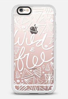 Wild and Free Geometric iPhone 6s Case by Coral Antler Creative   Casetify
