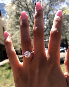 42 Top Round Engagement Rings: Best Rings Ideas %%page%% %%sep%% %%sitename%% Gold Simple Engagement Ring, Engagement Rings, Varicose Vein Removal, Rings Cool, Love And Marriage, Diamond Rings, Brides, White Gold, Wedding Rings