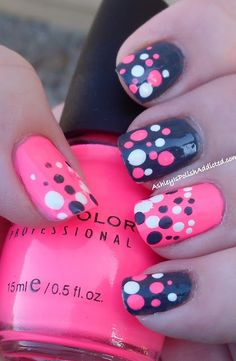 30 Amazing Dots Nail Art Ideas | Style Motivation