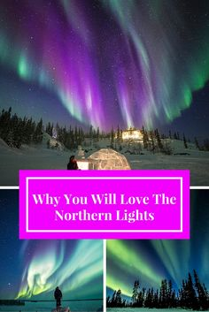 Find out where to see the Northern Lights in Canada. Photos: Blachford Lake Lodge (Yellowknife NT), Eagle Plains (Dempster Highway Yukon),