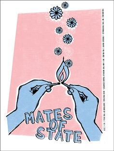GigPosters.com - Mates Of State