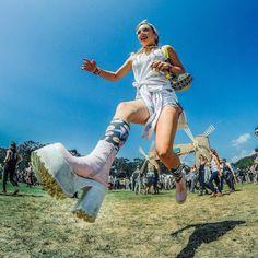 Photo by GoPro photo ambassador @mishavladimirskiy. #GoProMusic #OutsideLands #SanFrancisco #Jump