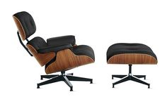 Shop the authentic Eames Lounge Chair from Herman Miller. Designed by Charles and Ray Eames, this leather lounge chair is one of the most significant designs of the century. In continuous production since Made in USA. Shop leather lounge chairs at DWR. Sofa Design, Ottoman Design, Design Furniture, Furniture Sale, Furniture Collection, Interior Design, Furniture Websites, Furniture Dolly, Furniture Removal
