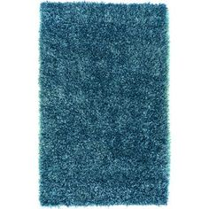 Artistic Weavers - Gualla Teal Blue Polyester Shag 8 Ft. x 10 Ft. 6 In. Area Rug - Gualla-D - Home Depot Canada