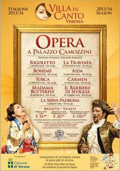 #Verona: Venerdì 10 gennaio #Aida a Palazzo Camozzini