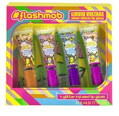 #flashmob Glitter Infused Lip Gloss, Liquid Voltage